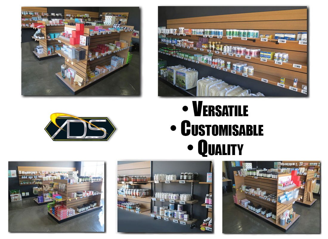 Advanced Display Systems | Shop Fitting Job